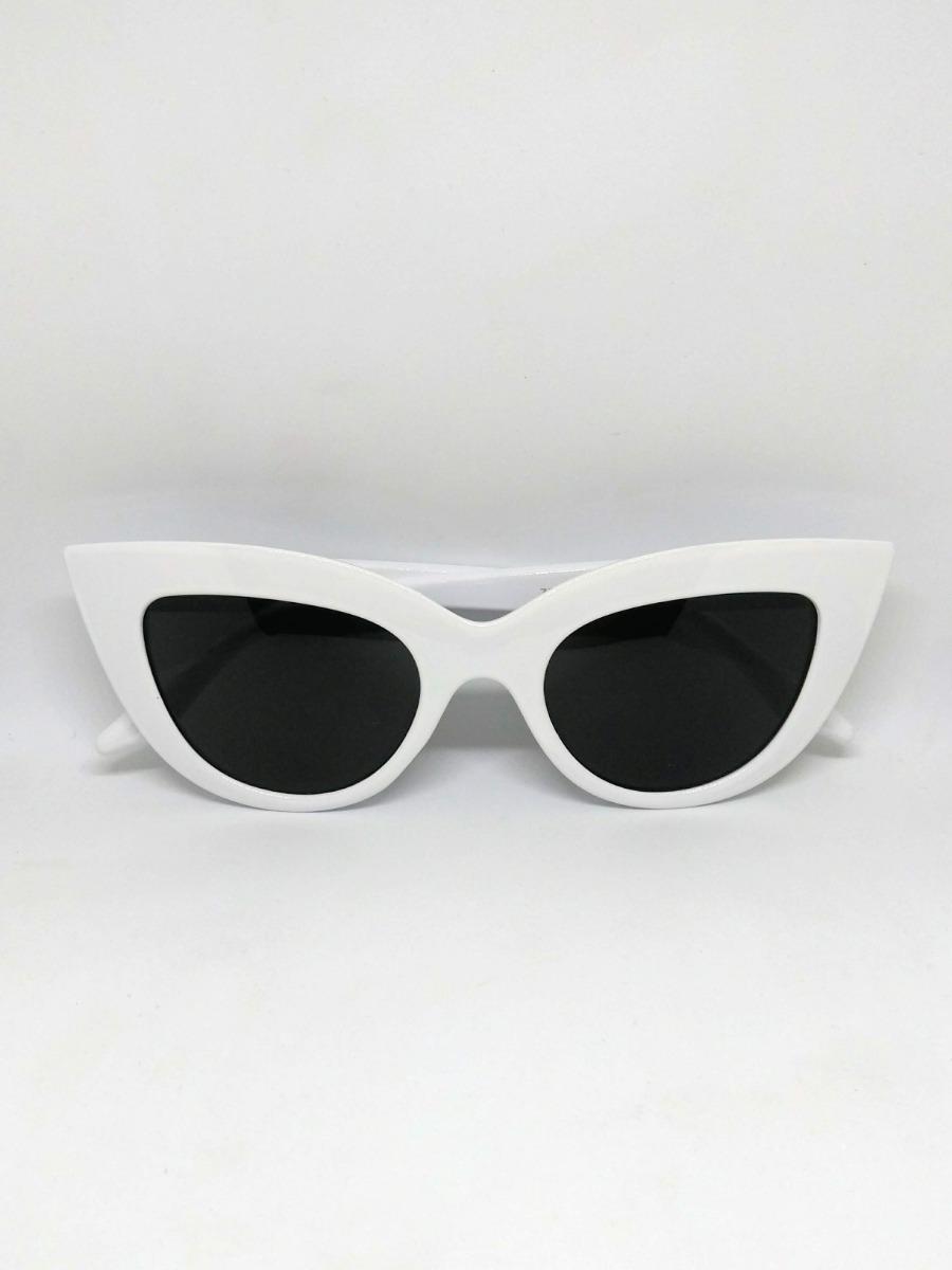 9b34a1140b46e óculos de sol branco grande marquezine. Carregando zoom.
