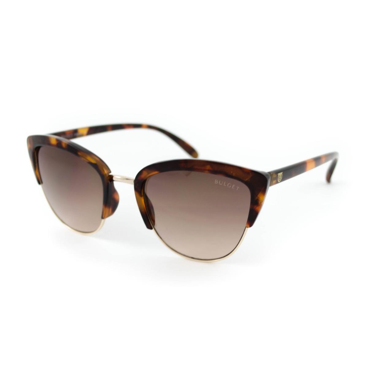 Óculos De Sol Bulget - Bg3206 G21 - Marrom - R  199,99 em Mercado Livre 113c284c51