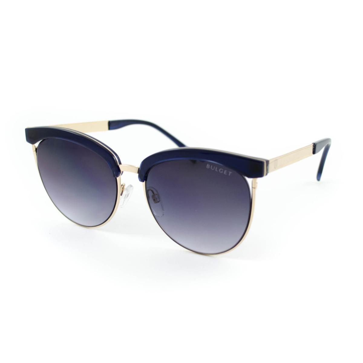 efc61563f7313 ... cor preto e detalhe dourado. óculos de sol bulget - bg5114 t01 - azul.  Carregando zoom.