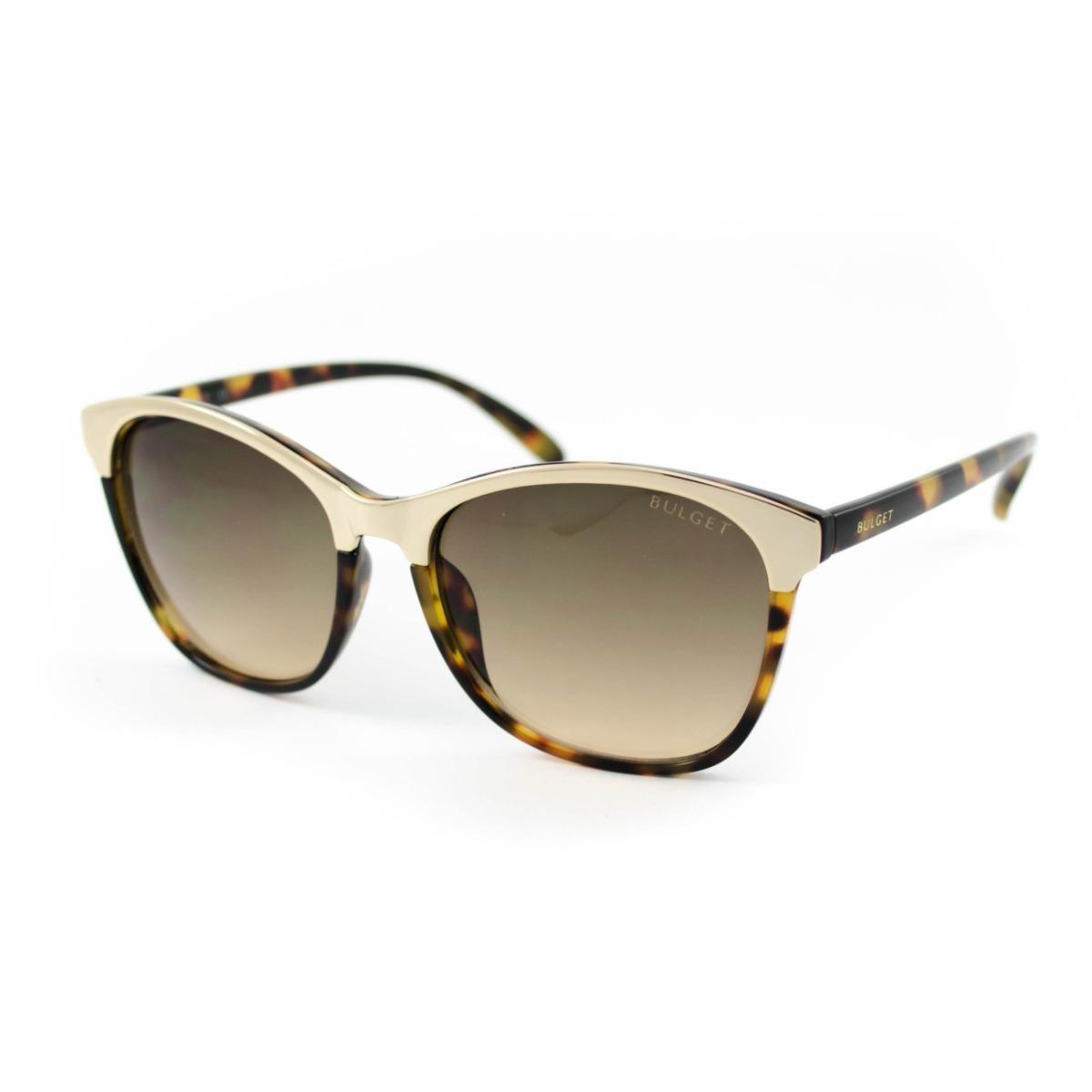8543c304a59f7 óculos de sol bulget - bg5130 g21 - marrom. Carregando zoom.