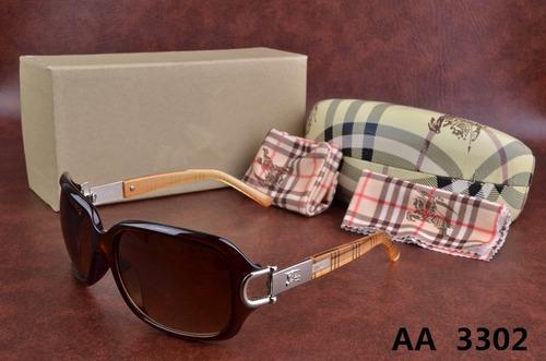Oculos De Sol Burberry 3302feminino + Acessórios 2019 - R  389,83 em ... 31f7065a59