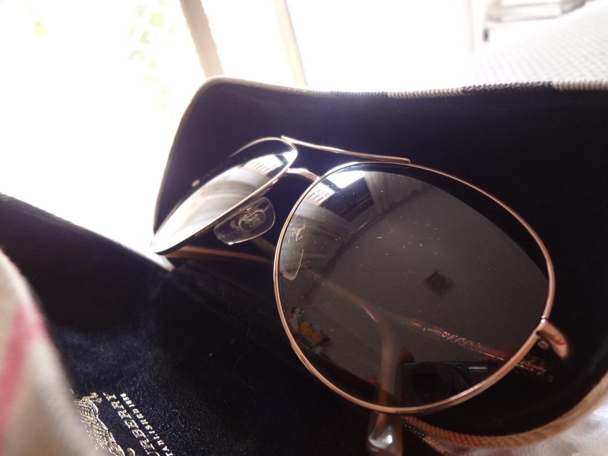 814f18bd2ccb7 Óculos De Sol Burberry Feminino Rosê - R  400,00 em Mercado Livre