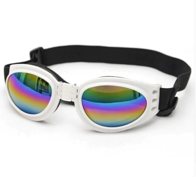 84e2a665685bd Óculos De Sol C  Proteção Uv P  Cães Cachorro Protege Olhos - R  34 ...