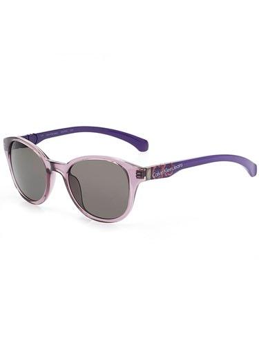f0b4d0457eee6 Óculos De Sol Calvin Klein Ckj 739s Shape Ii Roxo Exclusivo - R  349 ...