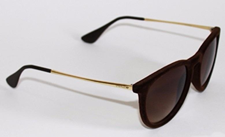 100011285 Óculos De Sol Camurça Marrom Pronta Entrega! - R$ 44,00 em Mercado Livre