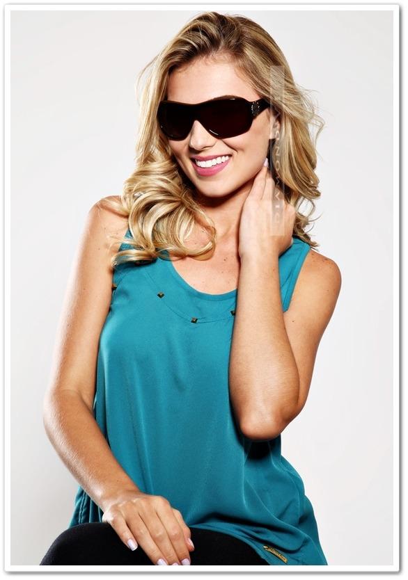 b6a31e4da Óculos De Sol Carmim Feminino Marrom Acetato Original - R$ 749,99 em ...