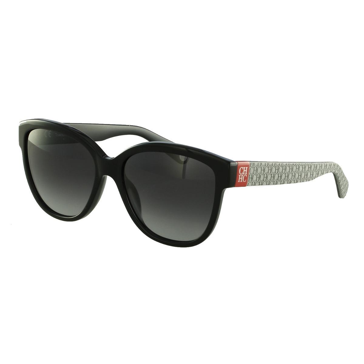 d5484e4092a48 Óculos De Sol Carolina Herrera Casual Preto - R  620,00 em Mercado Livre