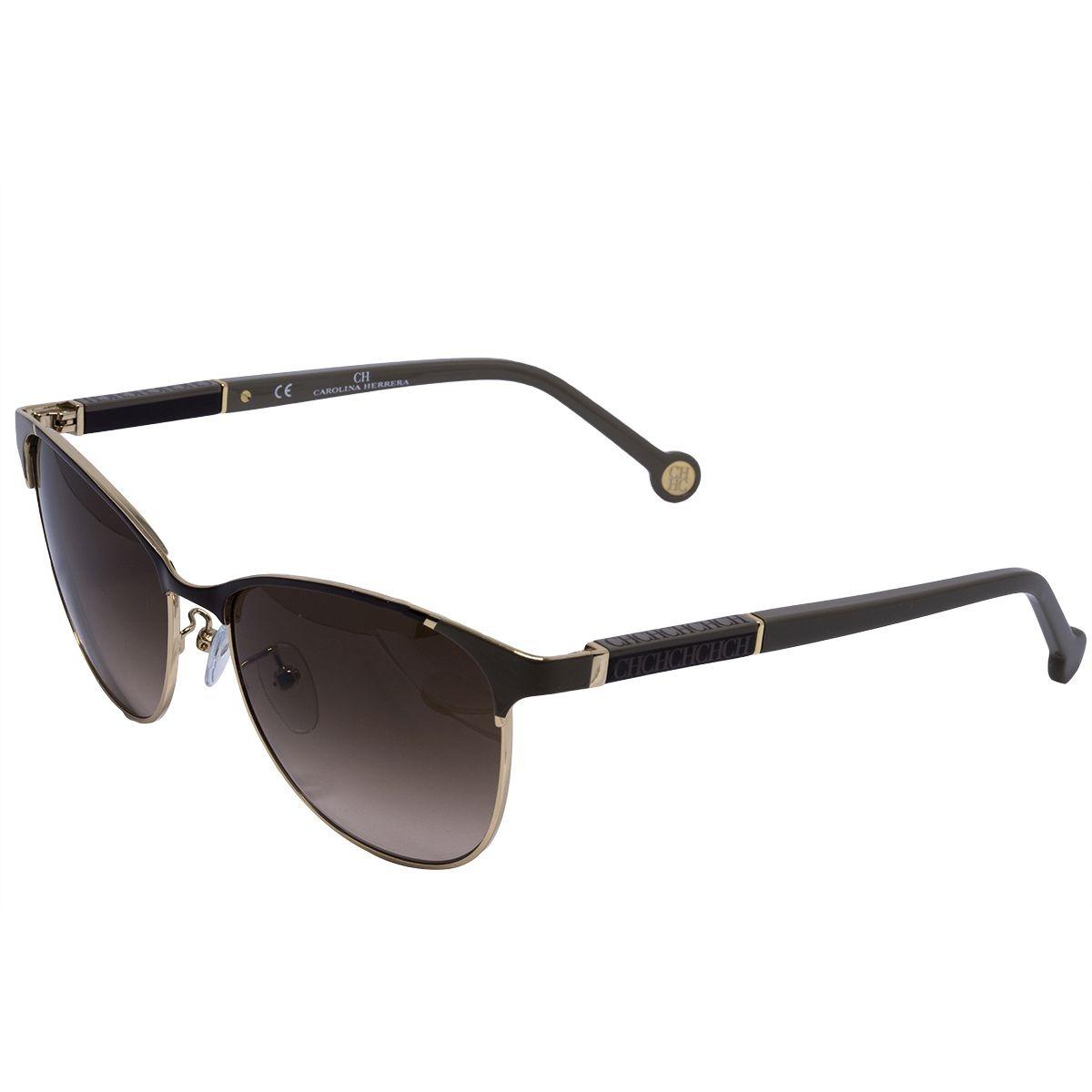 281c6f3461e91 Óculos De Sol Carolina Herrera Original She089 - R  987,00 em ...
