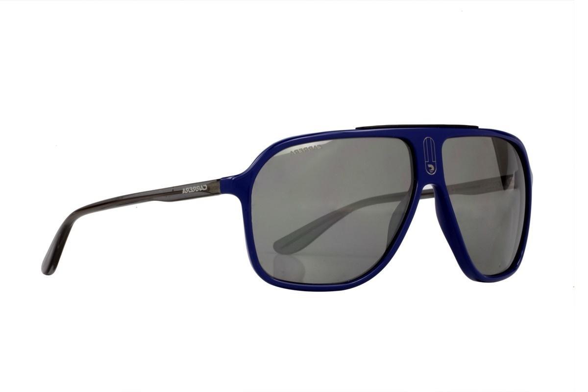 75d37deed Óculos De Sol Carrera 100% Proteção Uv Azul Lentes Cinza - R$ 261,00 ...