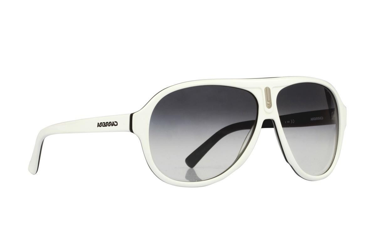 2a9dc529c Óculos De Sol Carrera 100% Proteção Uv Branco Com Cinza - R$ 198,00 ...