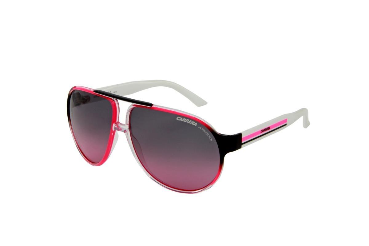 óculos de sol carrera 100% proteção uv ópticas melani branco. Carregando  zoom. f540c956bd