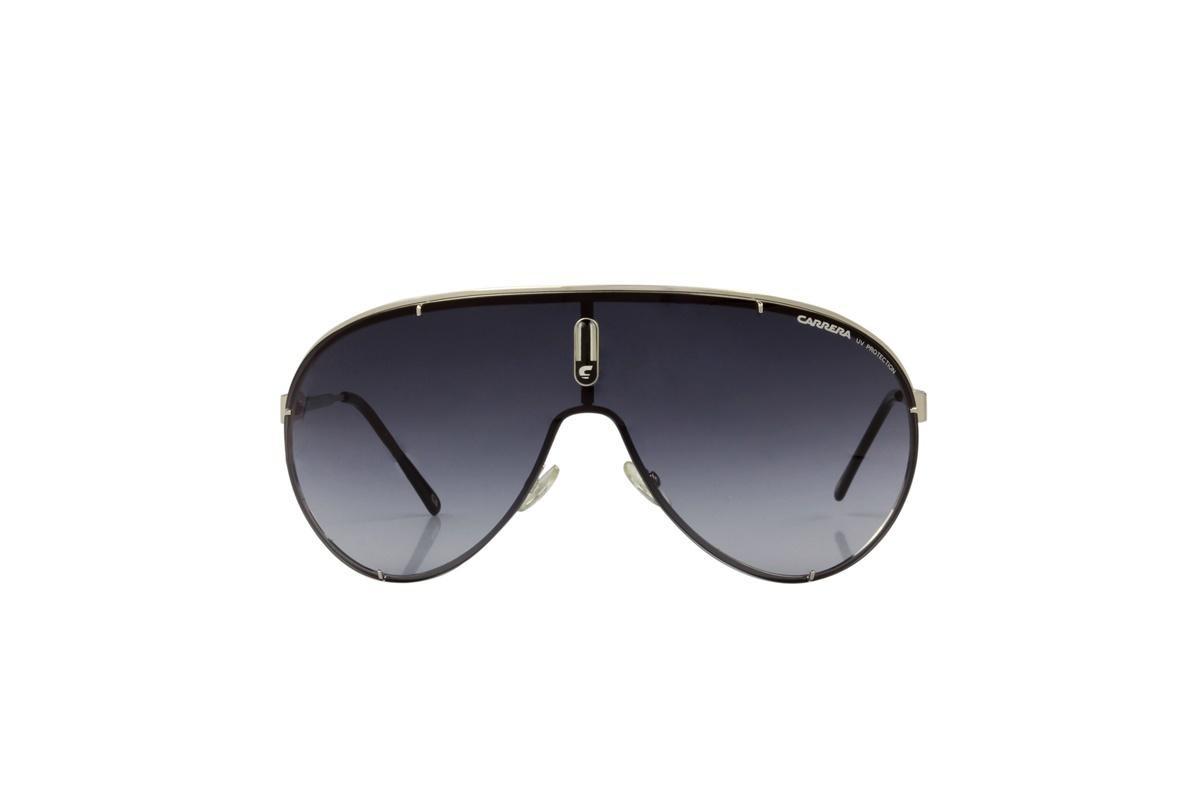 24a815200 Óculos De Sol Carrera 100% Proteção Uv Prata Lentes Preto - R$ 297 ...