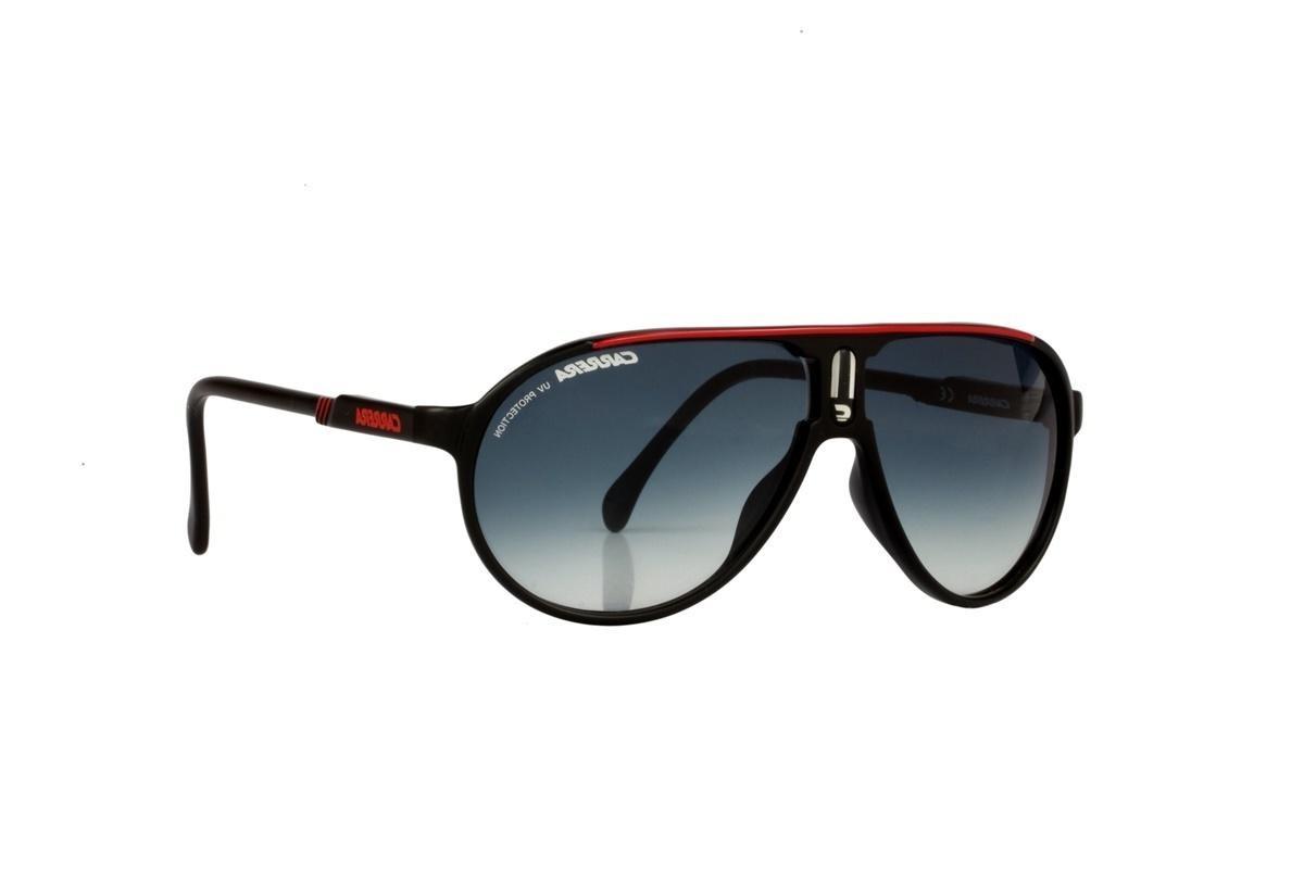 b5b85ec78 Óculos De Sol Carrera 100% Proteção Uv Preto E Vermelho - R$ 228,00 ...