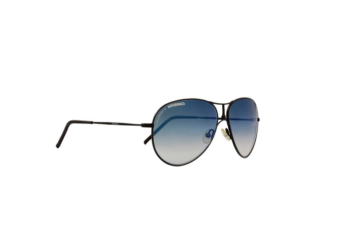 7cc86019f6379 óculos de sol carrera 100% proteção uv preto lentes azul. Carregando zoom.