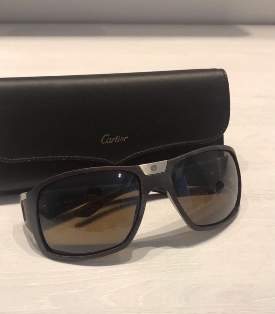 1d8ceefdc26a4 Óculos De Sol Cartier - R  2.500,00 em Mercado Livre