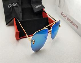 35457f4f3 Óculos De Sol Cartier, Surpreende-se Com O Melhor + Oferta. R$ 1.100