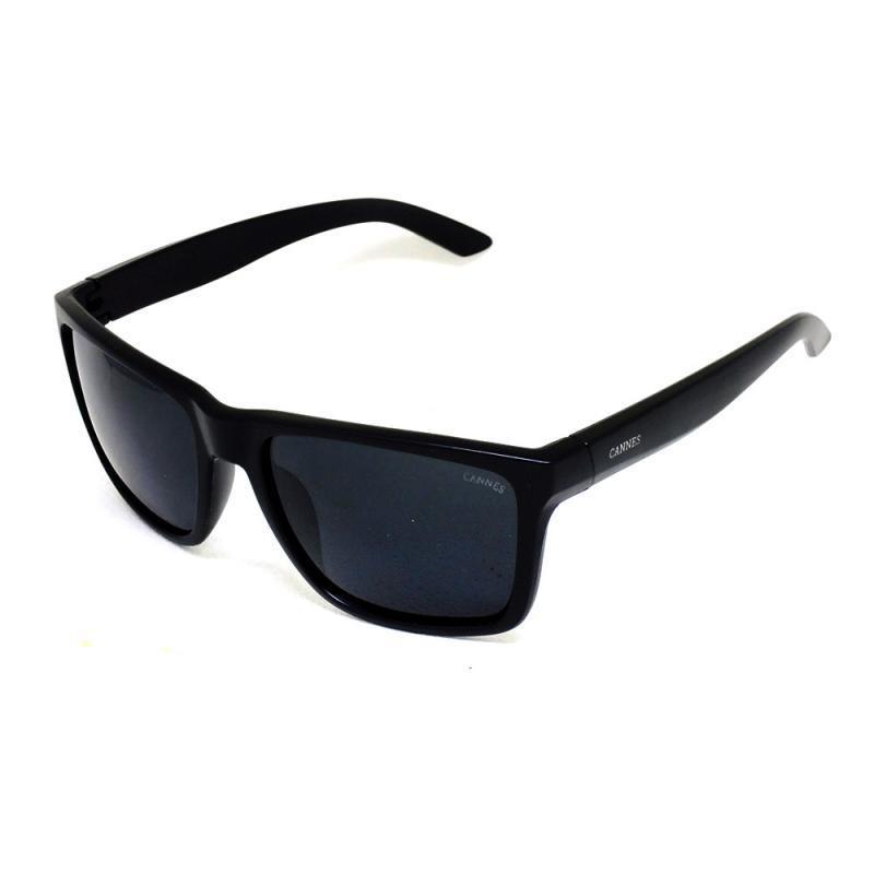 be5f4205b69c0 óculos de sol casual masculino cannes 2225 t 57 c preto. Carregando zoom.