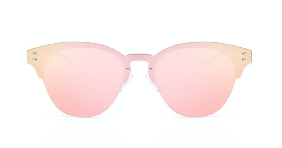 f3102e9c8 óculos de sol cat eye espelhado - sem borda - pronta entrega. Carregando  zoom.