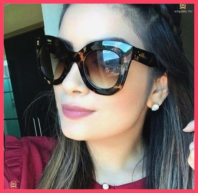 Óculos De Sol Celine Marta Acompanha Todos Acessórios  2827  - R ... 3f971bff4d