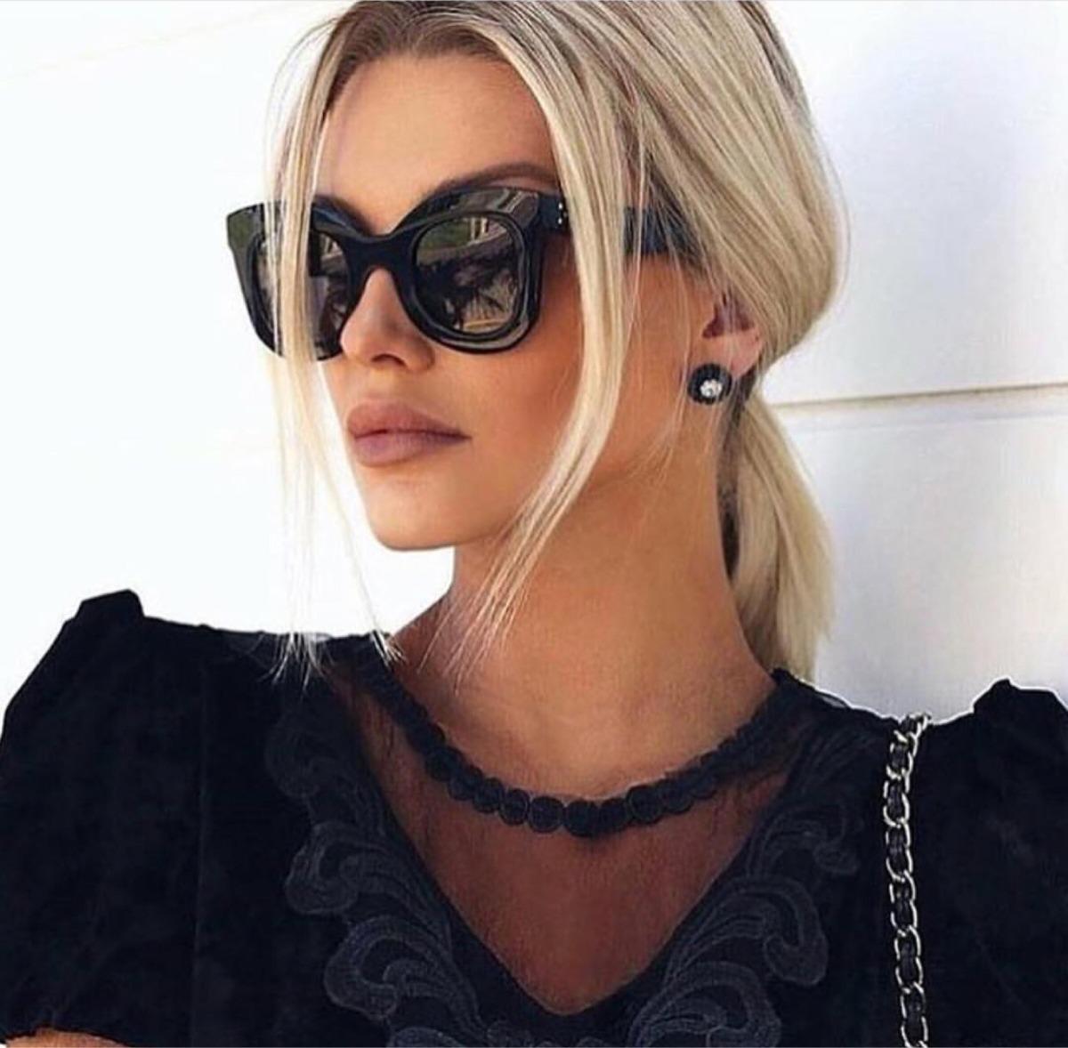 8c0c506a83092 Óculos De Sol Céline Marta - Feminino - R  930,00 em Mercado Livre