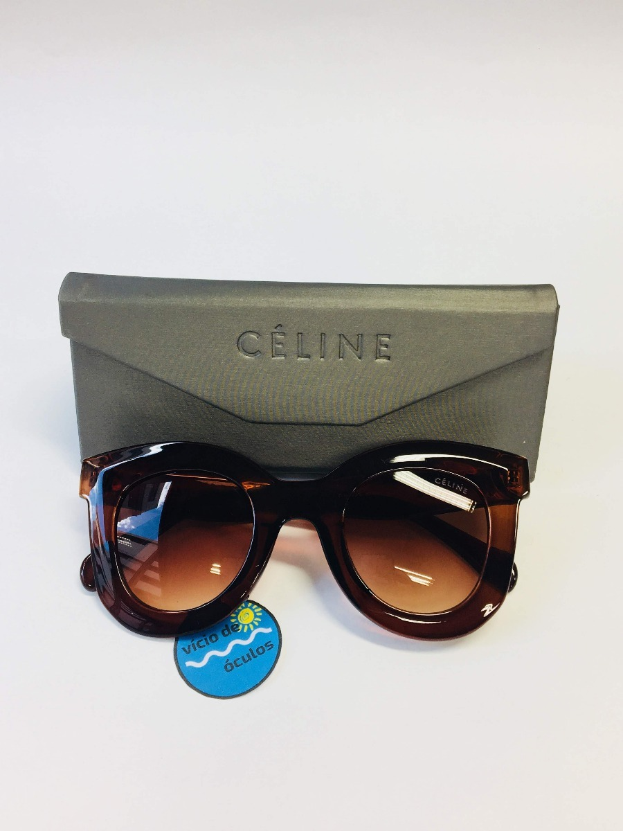 32819fb32fb1d Óculos De Sol Celine Marta Gatinho Proteção Uv 400 - R  99,90 em ...