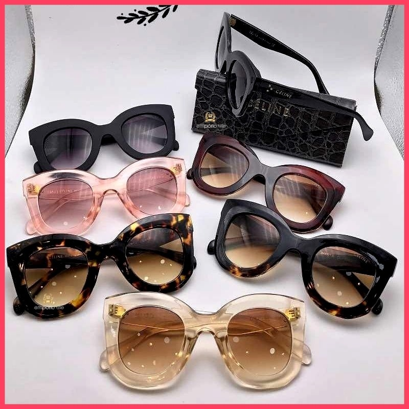 720e052d19f46 Óculos De Sol Celine Marta Receba Em Até 48 Horas °2508° - R  160,00 em  Mercado Livre