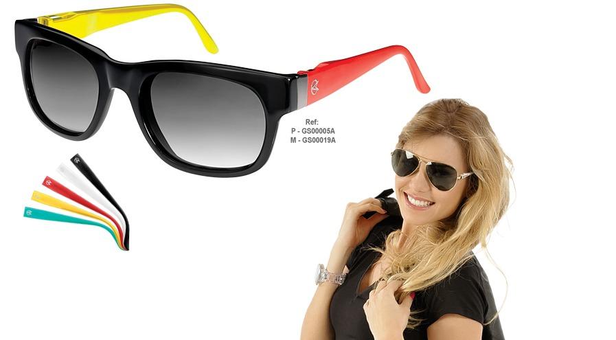 0106275c4df7f Óculos De Sol Champion Troca Hastes Gs00019a - Black - R  150,00 em ...