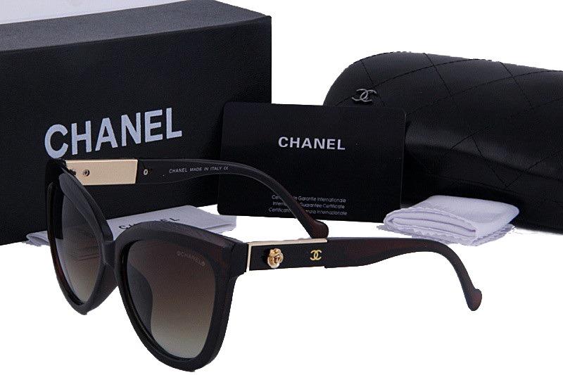 208084f6f0f97 oculos de sol chanel 5323 preto dourado lentes grande 2019. Carregando zoom.