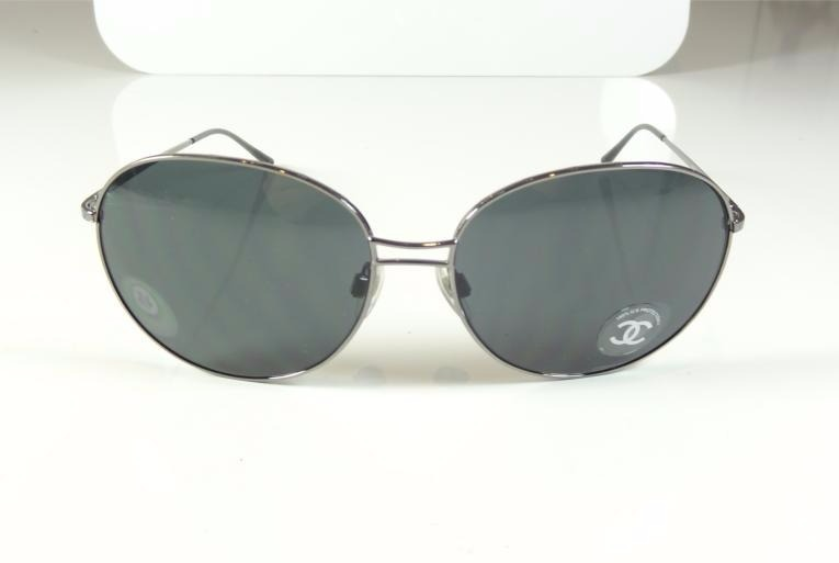 1185b11cd9a03 Oculos De Sol Chanel Feminino Grande Redondo Original A804 - R  299 ...