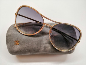 18c36e0bc Oculos De Sol Chanel Rosa - Óculos no Mercado Livre Brasil