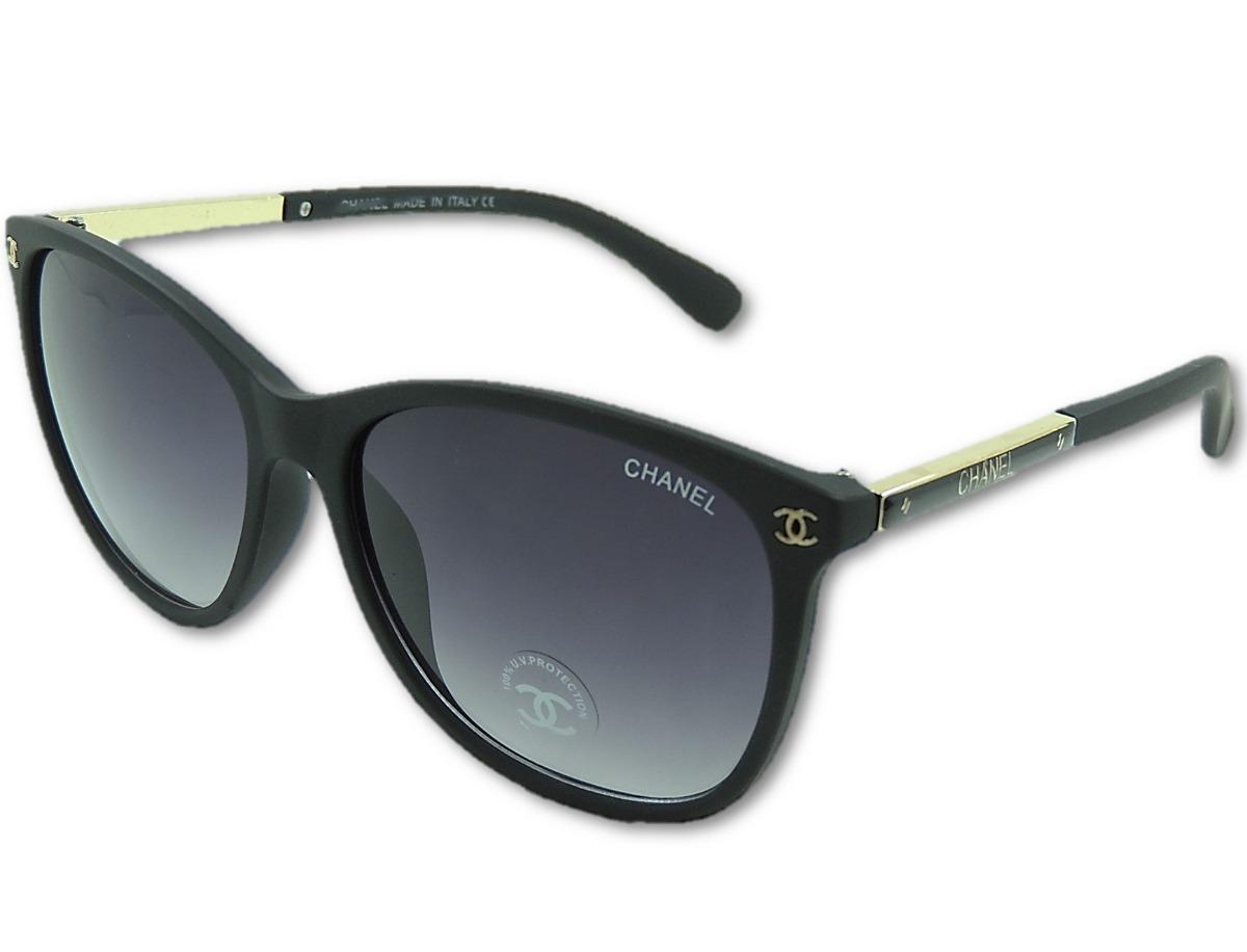 2567f19a0 óculos de sol channel uv400 feminino preto luxo. Carregando zoom.