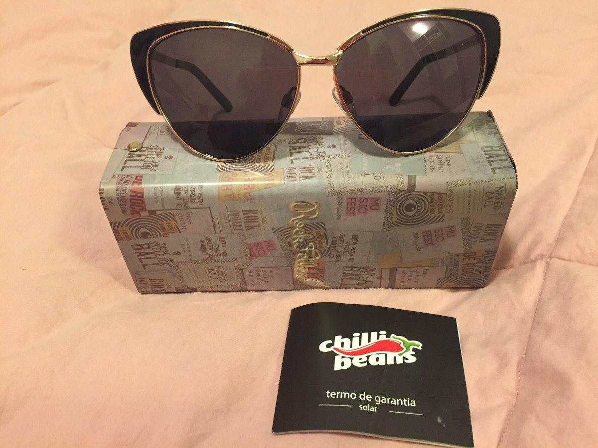 7f3522bb63c23 Óculos De Sol Chilli Beans Amy Winehouse Rock Fellas - R  190,00 em ...