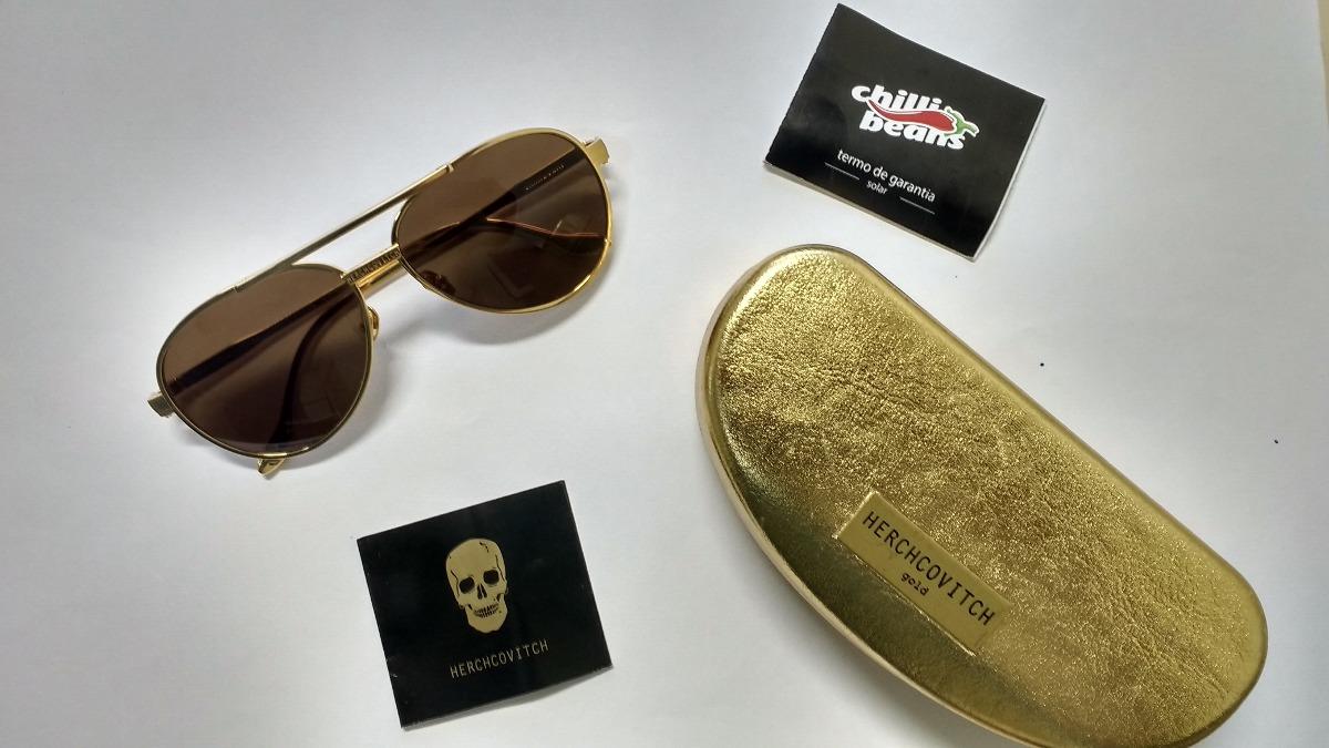 031307100 Óculos De Sol Chilli Beans Herchcovitch - R$ 290,00 em Mercado Livre