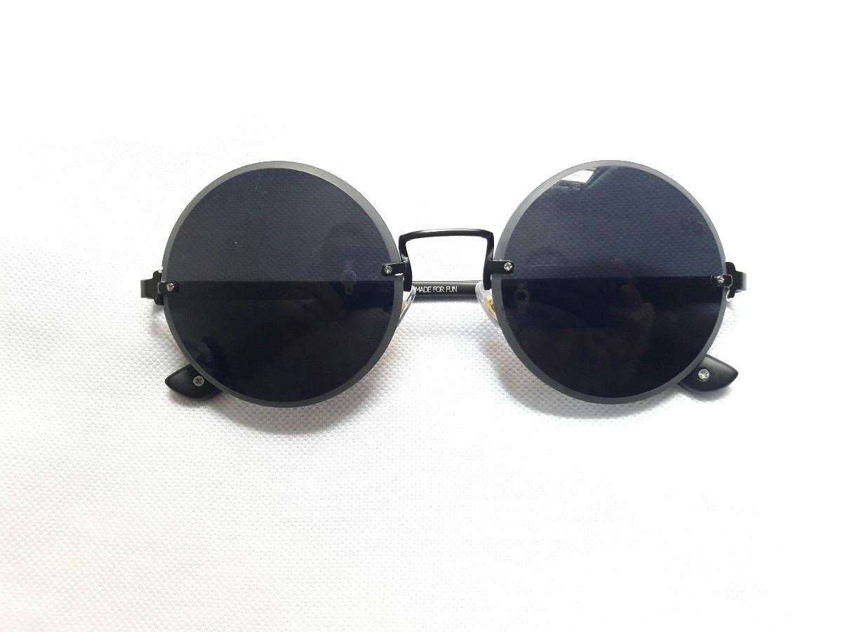 84cfca2e536b0 oculos de sol chilli beans original preto marron redondo. Carregando zoom.
