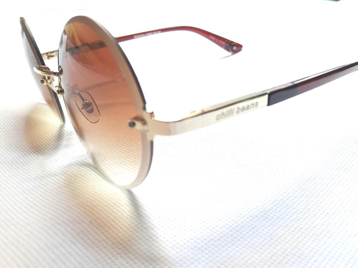 cf3a7d0e34c1e oculos de sol chilli beans original redondo feminino masc. Carregando zoom.