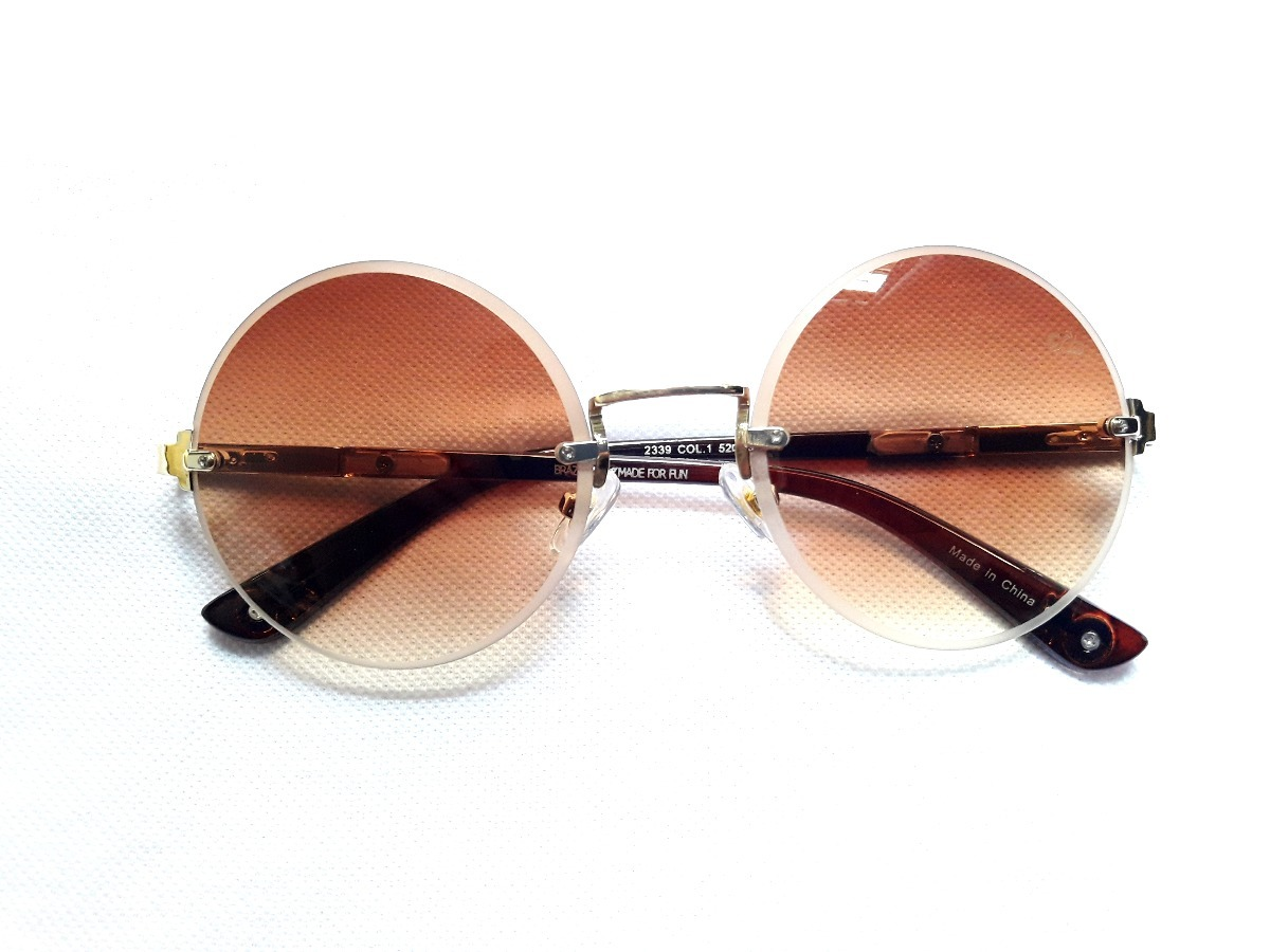1f3a275f72b9c oculos de sol chilli beans original redondo lançamento. Carregando zoom.