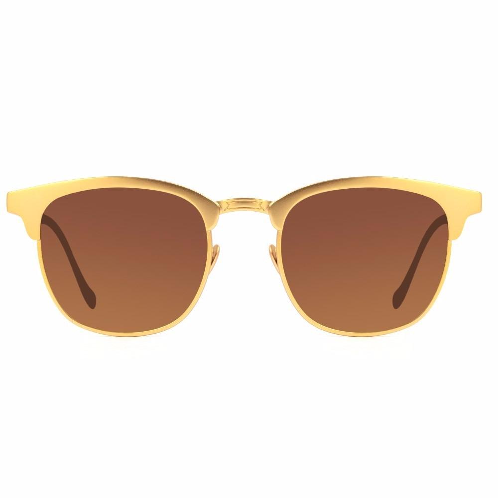 696e8eca6bc5b óculos de sol chilli beans ouro 24k original frete grátis. Carregando zoom.