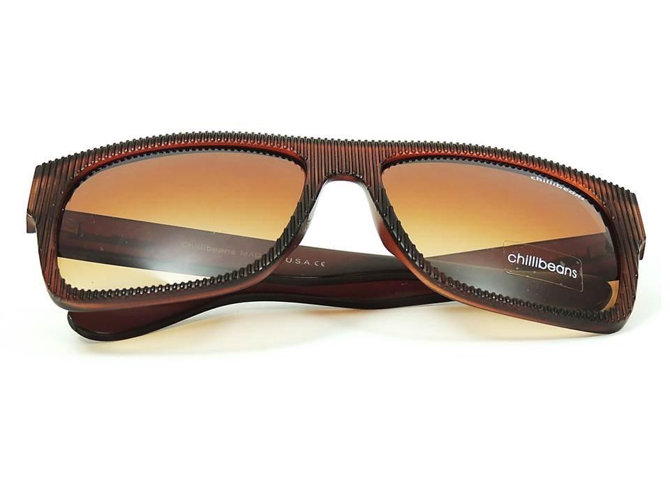 41ee4d10f óculos de sol chillibeans masculino marrom proteção uv400. Carregando zoom.