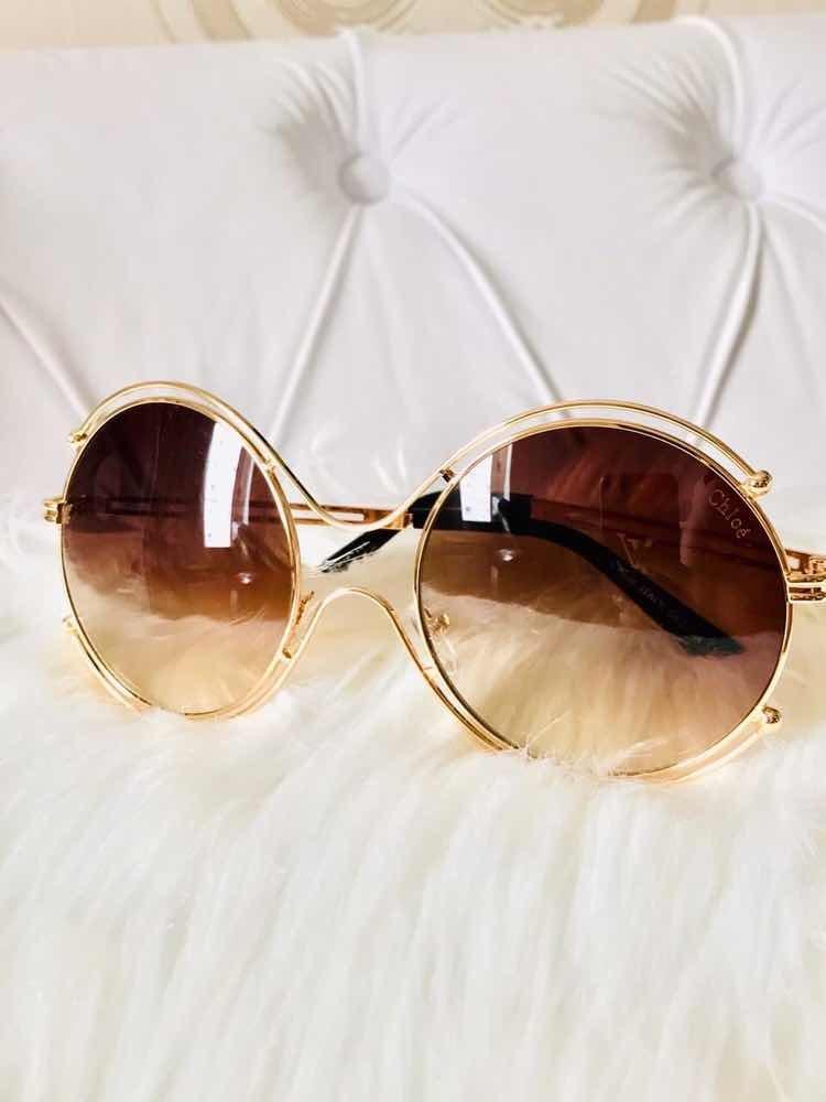 9d6e1227fec3a óculos de sol chlóe carlina. Carregando zoom.