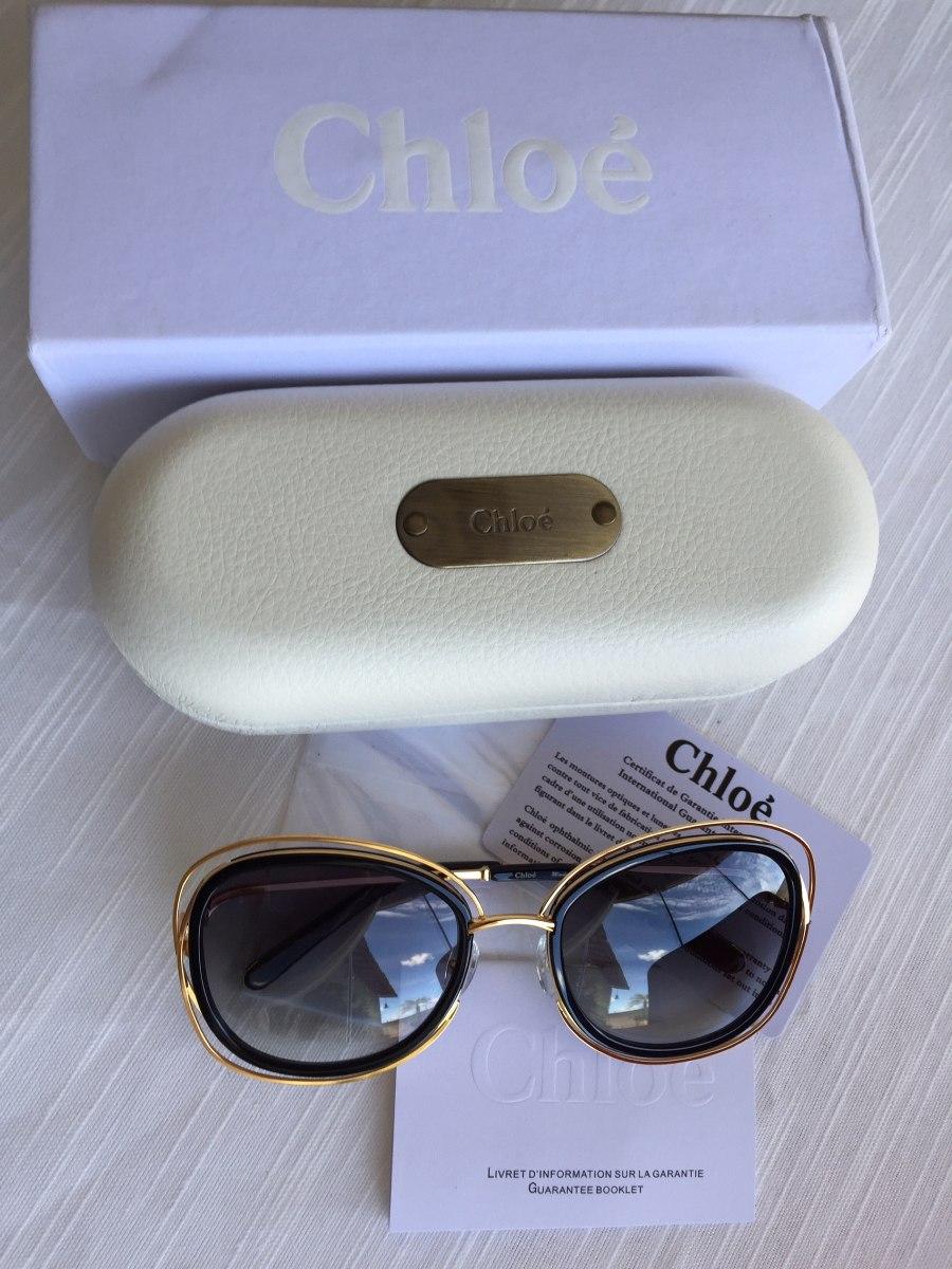 e739b4dd8d6d7 óculos de sol chloé carlina ce123 s. original. Carregando zoom.