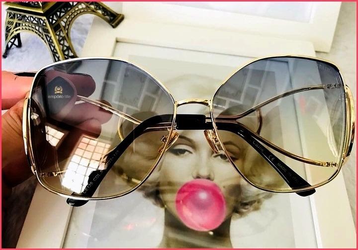 0e707107bd070 Óculos De Sol Chloe Jackson Importado Já No Brasil °1867° - R  140 ...