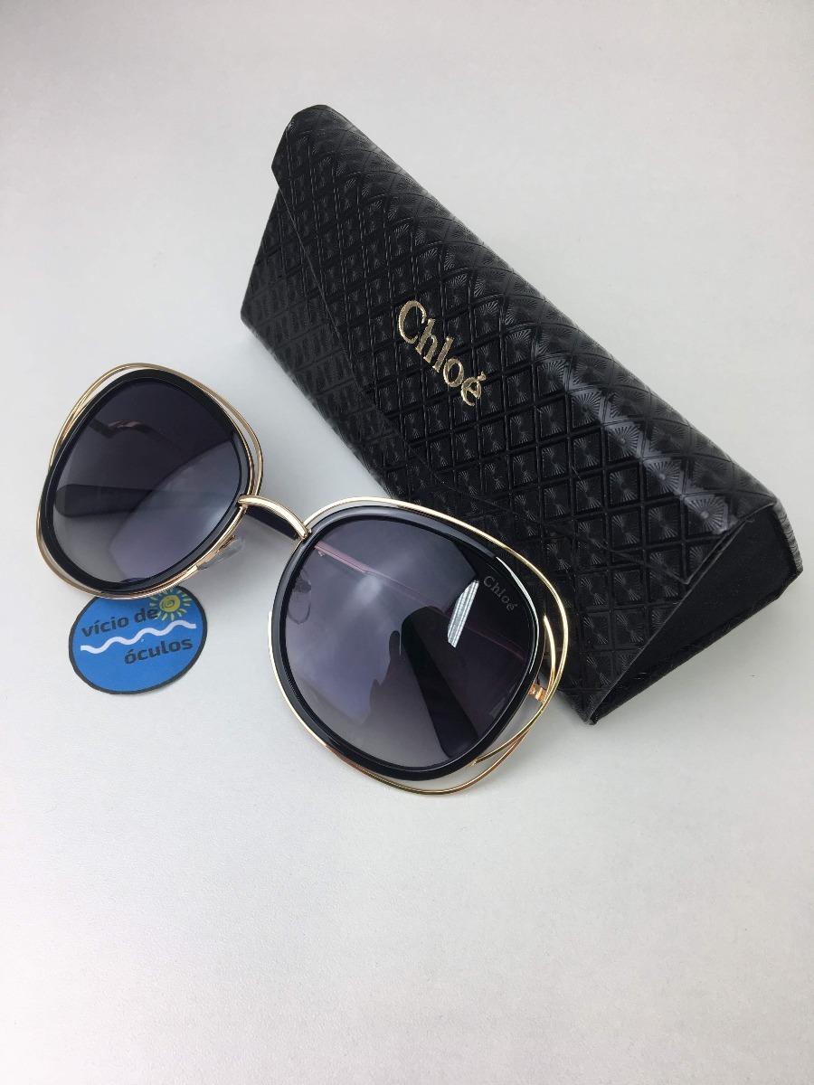45670e0d4be70 Óculos De Sol Chloé Replica Original Proteção Uv400 - R  89,90 em ...