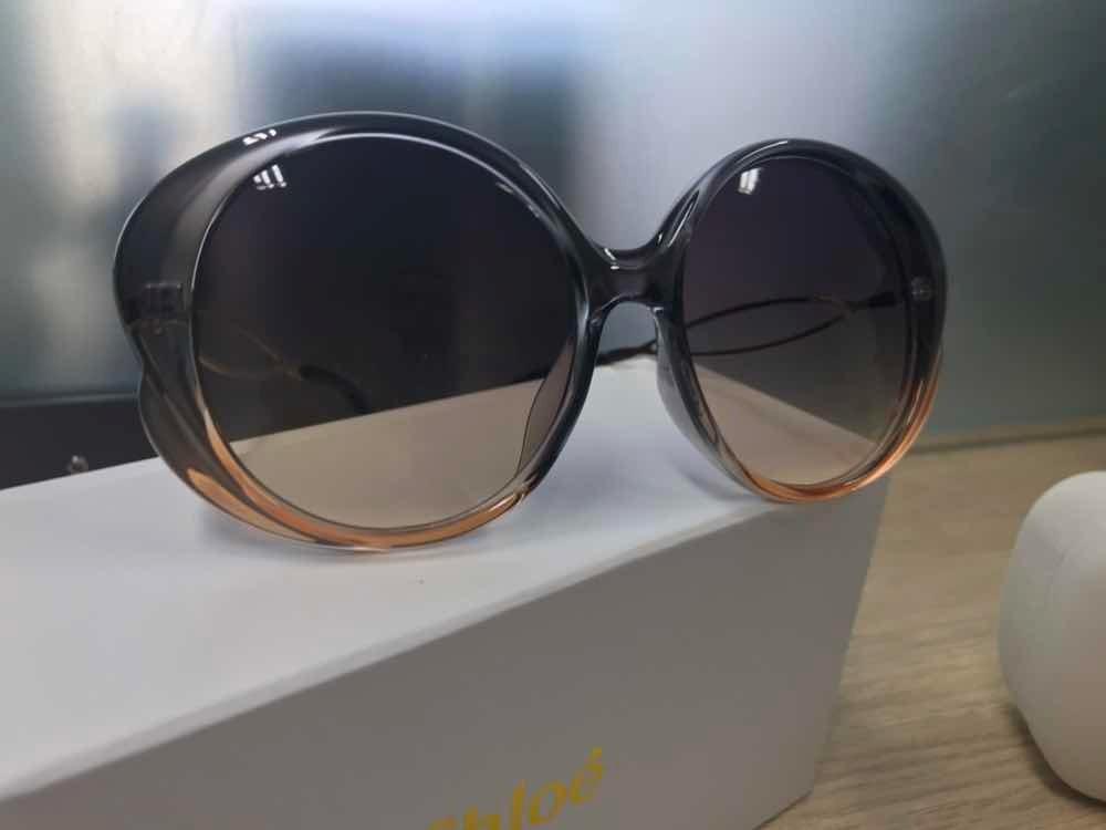 Óculos De Sol Chloé Rubie Nude Acetato Feminino - R  650,00 em Mercado Livre 0b9f554a03