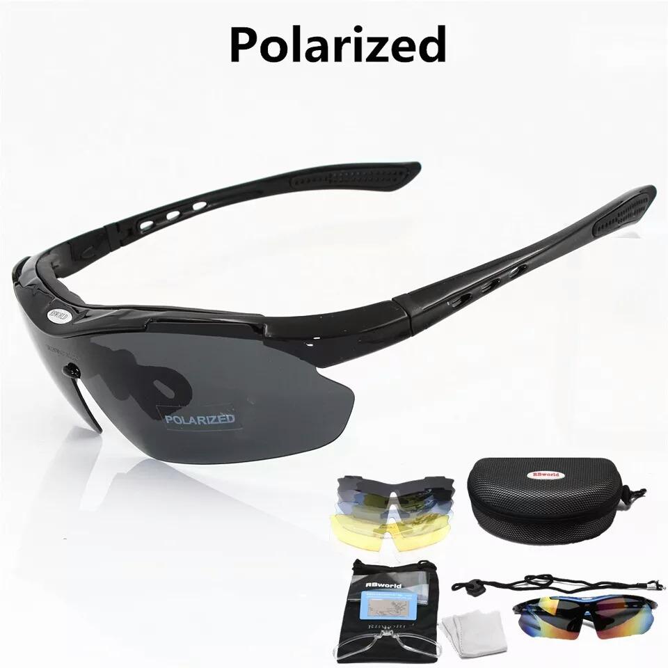 4b75cee552bdc oculos de sol ciclismo corrida pesca 5 lentes polarizado. Carregando zoom.