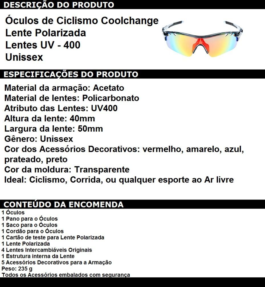 1747ca93a4fab óculos de sol ciclismo polarizada 5 lentes uv400 bike mtb. Carregando zoom.