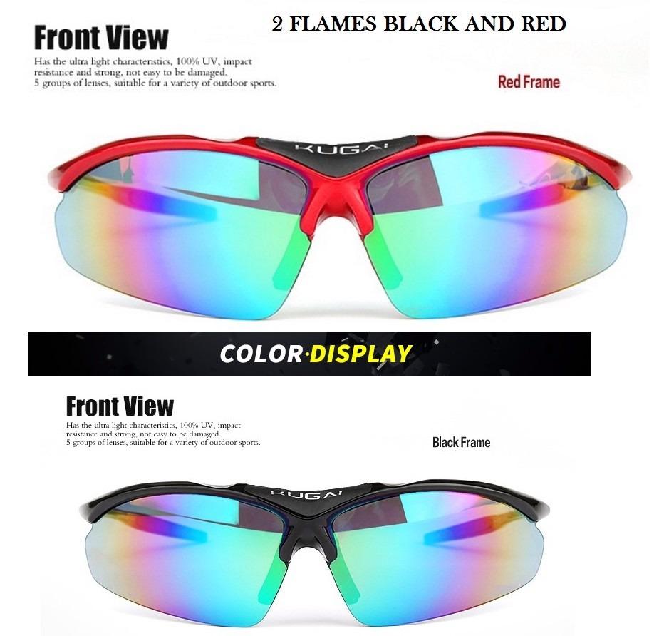 eb80a7d3a2655 óculos de sol ciclismo polarizado 5 lentes bike 2 armações. Carregando zoom.