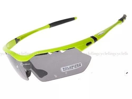 eaecbe46eb3e0 Óculos De Sol Ciclista Esporte Óculos Ciclismo 5 Lentes Uv - R  129 ...