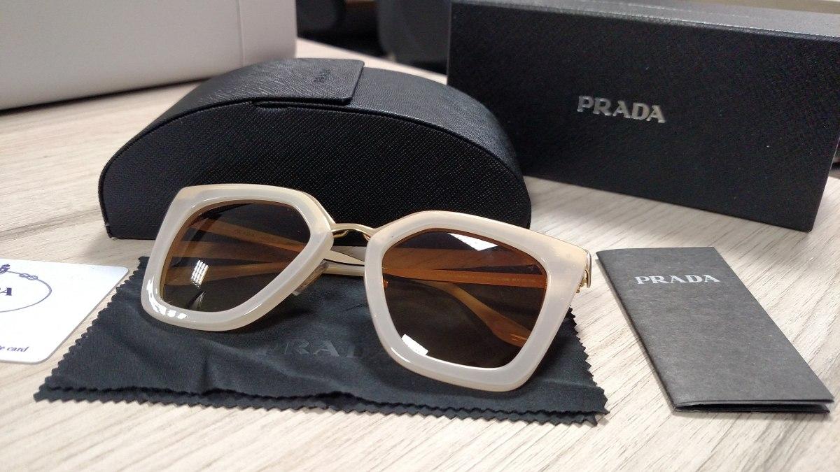 7d2ed8fd8690f Óculos De Sol Cinema Evolution Pr53ss - R  380,00 em Mercado Livre