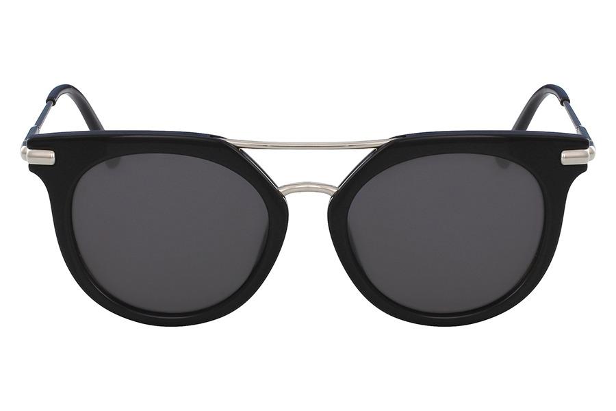 7c6b4e19d Óculos De Sol Ck Ck1232s 001/52 Preto Brilhante/prata - R$ 661,99 em ...