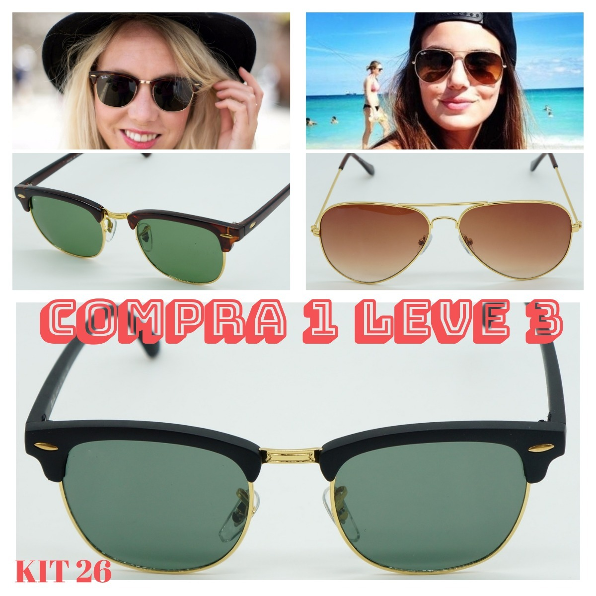 d1aebf21dcea0 óculos de sol club master retro feminino cristal moda verão. Carregando  zoom.